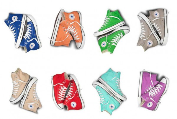 converse all star kolorowe